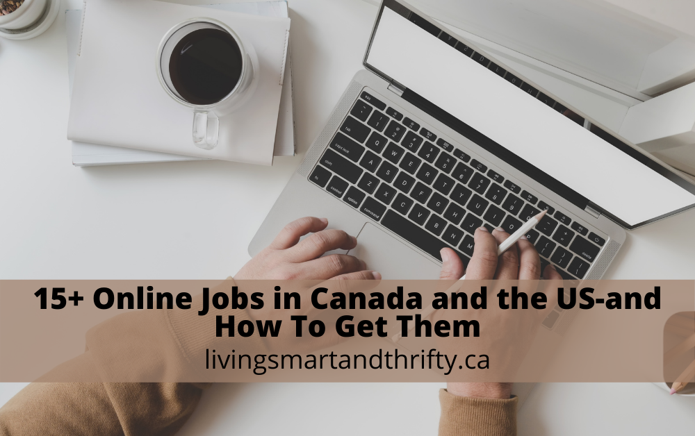 online jobs in Canada and the US